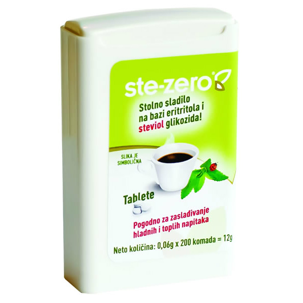 Stevia tablete u dispenseru