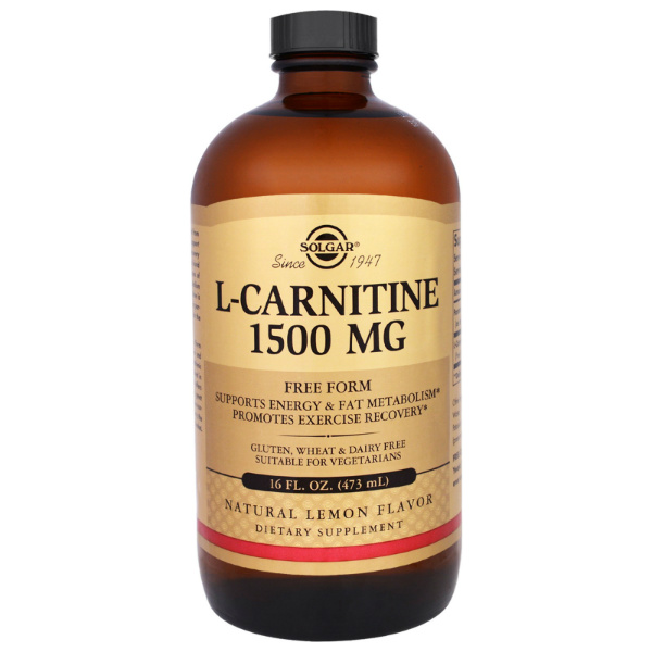 Solgar – L Carnitine (1500 mg)